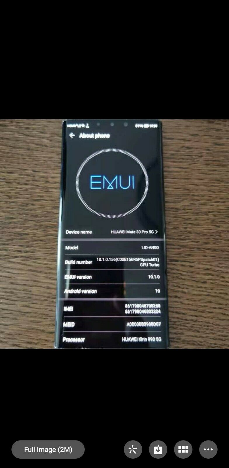 Huawei mate 30 pro LIO-anoo 128GB excellent condition dual sim
