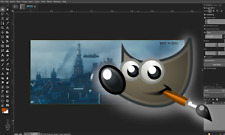 GIMP Professional Photo Editor Software easy to install on USB 3.2 FAST RELIABLE