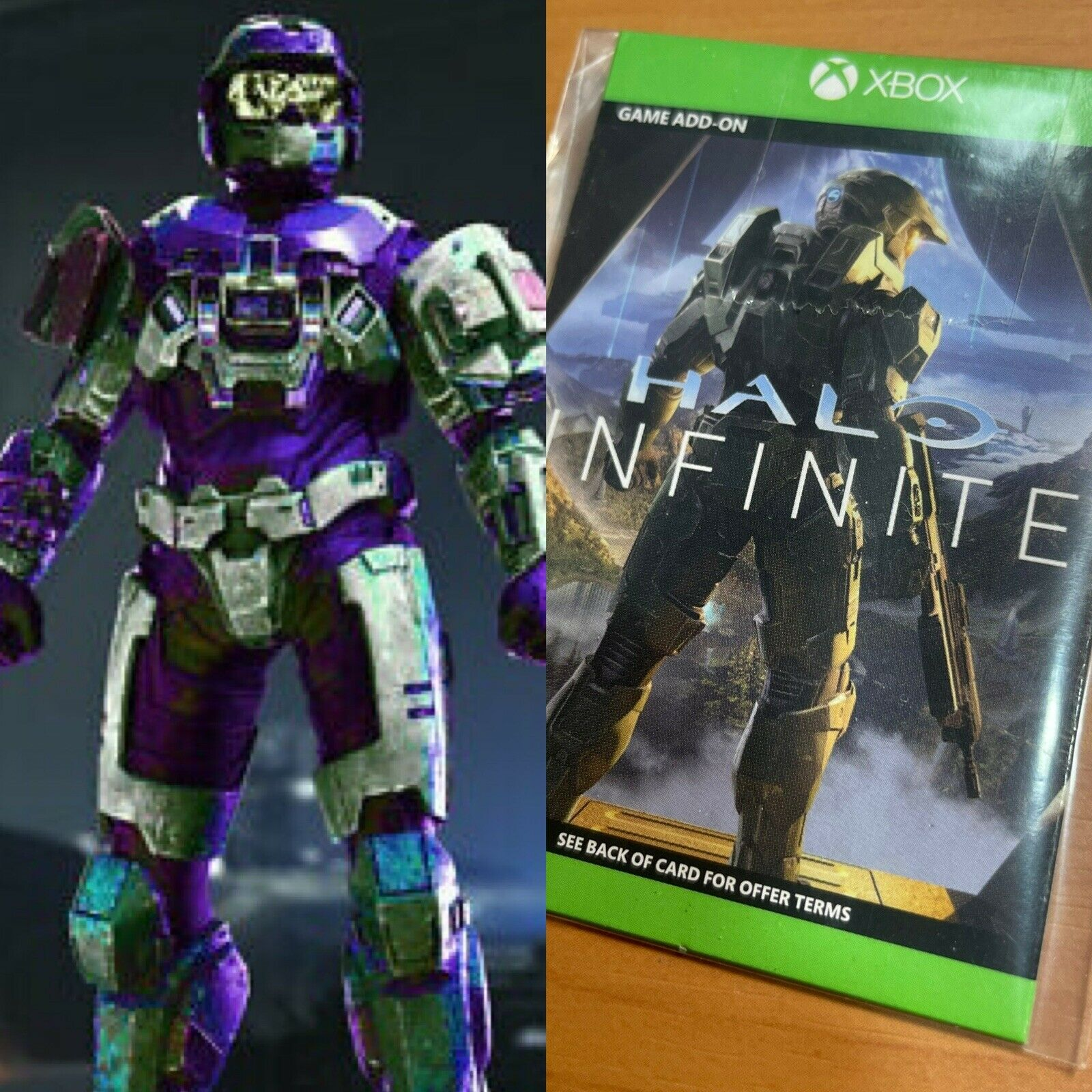 Halo Infinite Armor Coating WCT Wicked Cool Toys Jazwares DLC Code All Regions