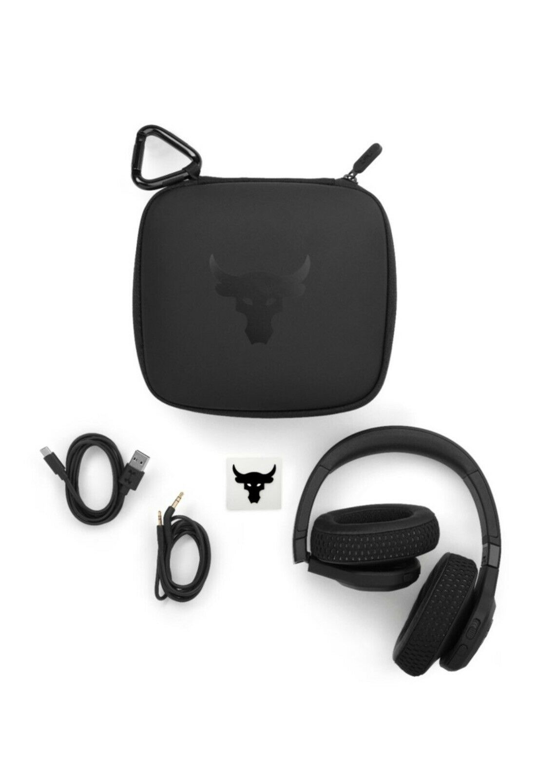 JBL Under Armour Project Rock Wireless Over-the-Ear Headphones Newest Model Fast