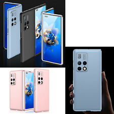 Phone Case Slim Folding Screen Back Cover Solid Color Shell for Huawei MATE X2