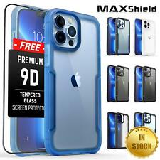 Shockproof Case Fr iPhone 13 12 11 Pro Max Heavy Duty Hard Slim Clear Case Cover
