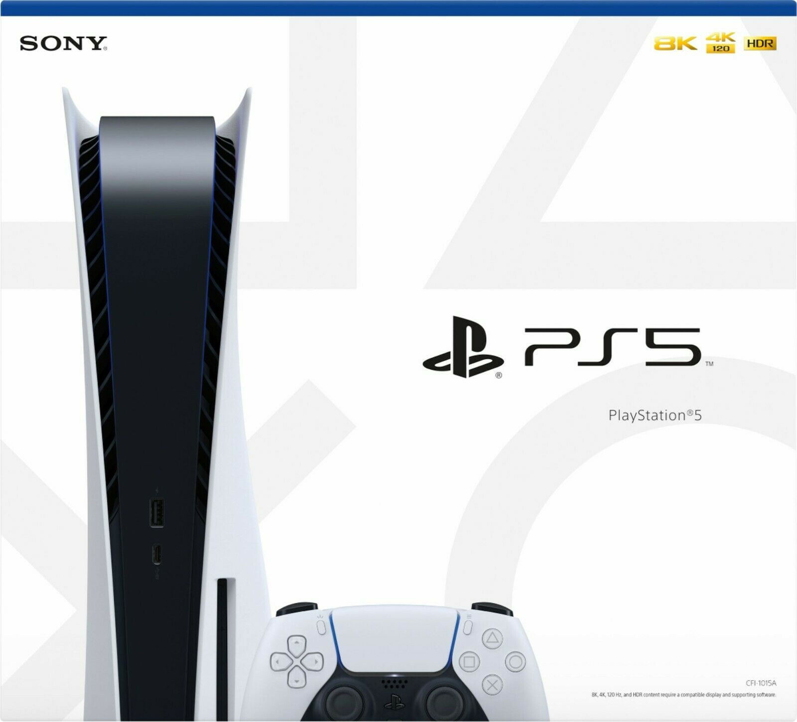 Sony PS5 Playstation 5 Disc Blu-Ray Edition Console - White - IN HAND FAST SHIP