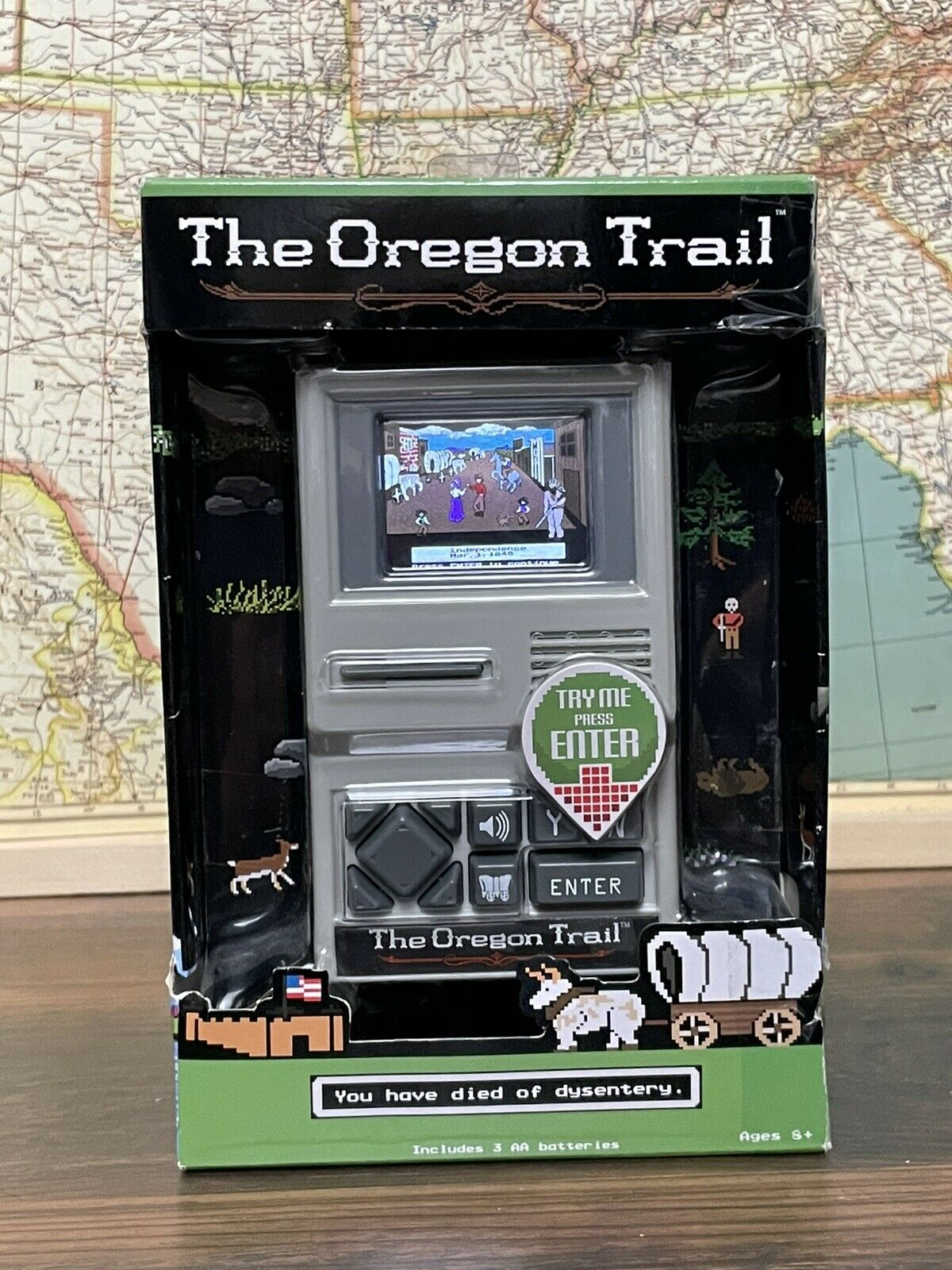 The Oregon Trail 2018 Electronic Handheld Retro Classic Computer Video Game New!