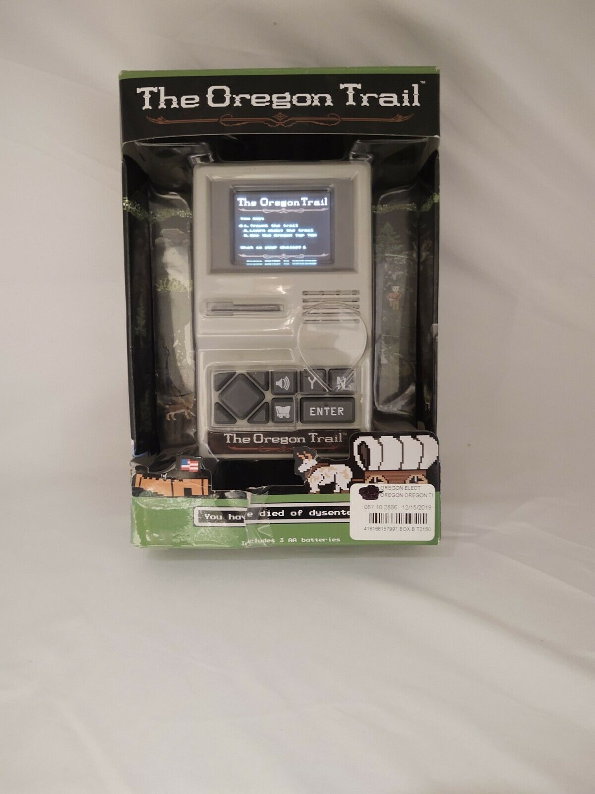 The Oregon Trail Handheld Classic Computer Game 2017 Color screen - TESTED WORKS